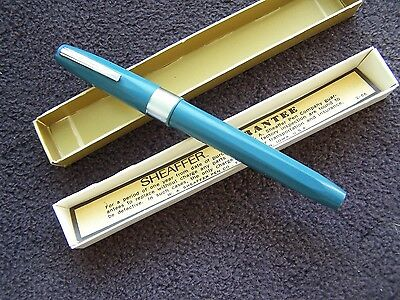 Vintage Sheaffer Fountain Pen Original Box Papers