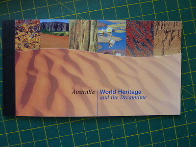 1993 United Nations Australia World Heritage and the dreamtime book of stamps