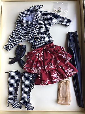 """Tonner Wilde Imagination 16"""" Ellowyne Wilde Checkmate Doll Clothes Outfit NRFB"""