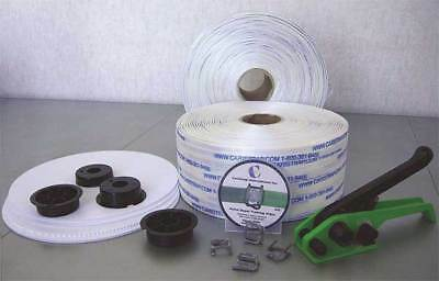 CARISTRAP 65WGSK Strapping Kit,Polyester,1640 ft. L