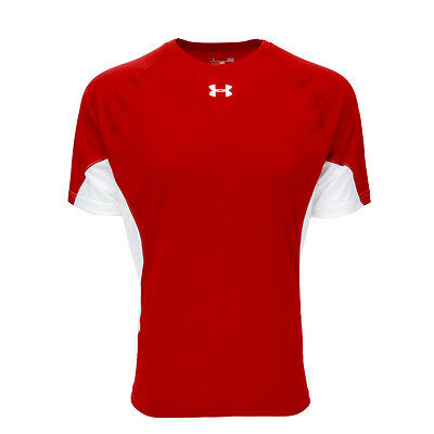 Under Armour Men's UA Recruit T-Shirt Red/White M