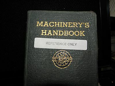 Machinery's  handbook 12th edition 1943 reference book