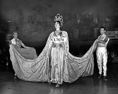 Maria Callas as the Empress of Egypt at Benefit Costume Ball at Waldorf Astoria