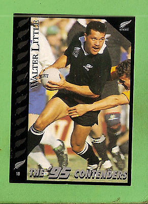 1995 New Zealand  All Blacks Rugby Union Card  #19  Walter  Little