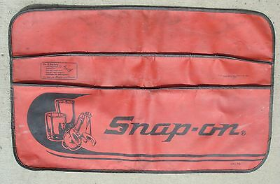 Vintage Snap-On CK-7C Red Fender Cover Used
