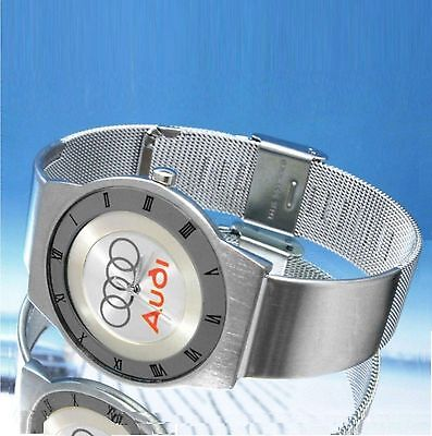 silver face watch for A.U.D.l  A4 A6 r8 tt s4 v8 q7 s6 A8 S8 drivers