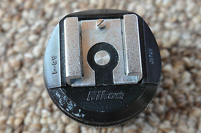 Nikon As-1 Flash Unit Coupler ~ For F F2 ~ Hotshoe Adapter As1