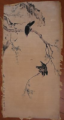 Excellent Rare Old Paper Chinese Landscape Hand Painting Collection Marks PP871
