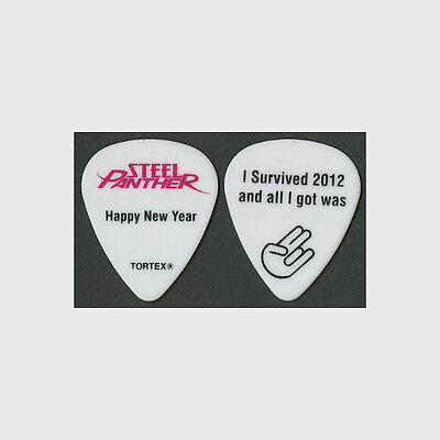 Steel Panther authentic 2012 tour HTF New Years Eve show collectible Guitar Pick