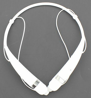 LG Tone Pro HBS-760 White Wireless Bluetooth Neckband Earbud Headset