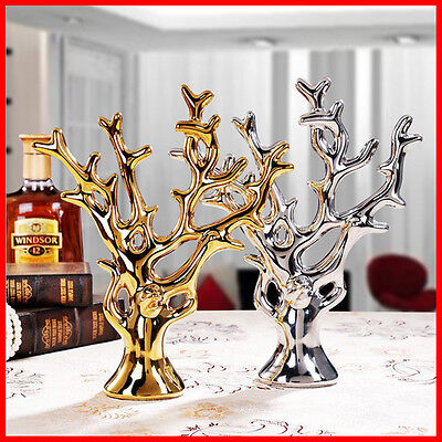 [Symbol of Wealthy] Ceramic Fountain Tree Home FENGSHUI Statue Ornaments J6-6