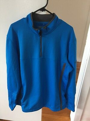 Men's Nike Golf Therma Fit Size Large Jumper. Nike Sz l Jumper For Winter