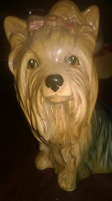 """Sylvac """"yorkshire Terrier"""" Dog In Gloss Finish .perfect Condition"""