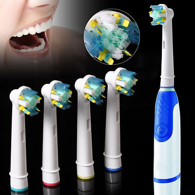 8 Pcs Electric Toothbrush Heads Replacement for Braun Oral-B FLOSS Action EB-25A