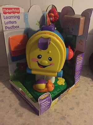 Fisher Price Learning Letters Postbox New In Sealed Box