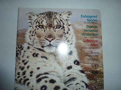 1993 United Nations Endangered Species annual stamp collection