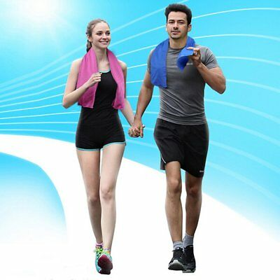 Ice Cold Running Jogging Gym Chilly Pad Instant Cooling Towel Outdoor Sports