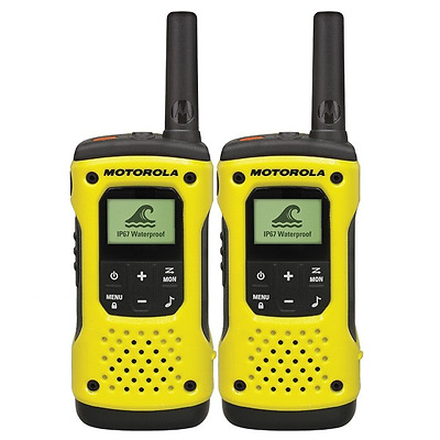 Motorola TLKR T92 waterproof license free walkie talkie *BRAND NEW PRODUCT*