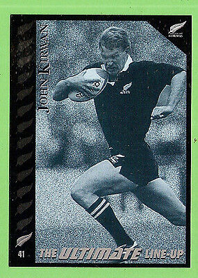 1995 New Zealand  All Blacks Rugby Union Card  #41  John  Kirwan