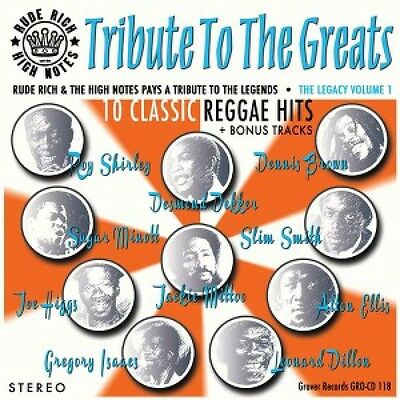 Rude Rich & The High Notes 'Tribute To The Greats' LP