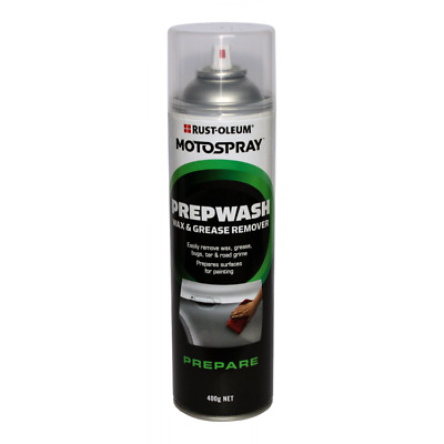 Prepwash Wax & Grease Remover Spray 400g