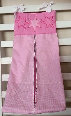 Brand New nappy stackers/ Diaper Stacker- Pink And White