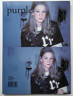 """PURPLE #7, 2001 """"Special New Jersey"""" Richard Prince, Terry Richardson ..."""