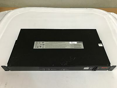 APC AP7721 Automatic Transfer Switch (ATS) 230V 10A AP7721 with Rack Mounts