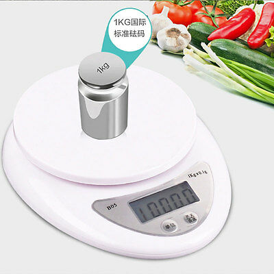 Digital Kitchen Scale 1-5000 g Diet Food Compact Kitchen Scale Small Appliance