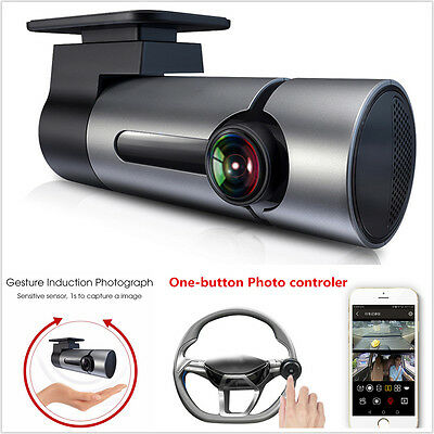 Full HD 1080P Wifi Mini Car DVR Camera Video Recorder Dash Cam One Button Photo