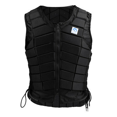 Women Breathable Equestrian Vest Horse Riding Body Protector Lightweight S