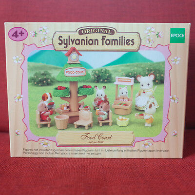 Sylvanian Families FOOD COURT Epoch UK 2642 Calico Critters