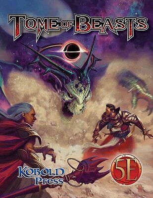 Tome of Beasts by Wolfgang Baur 9781936781560 (Hardback, 2016)