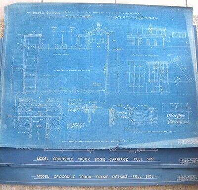 "Garden railway 7.5"" gauge: Blueprints/ plans for a layout (35)"