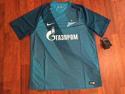 Zenit St Petersburg nike shirt home blue 2016-17