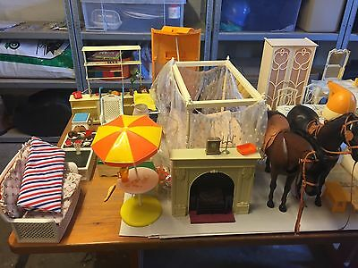 Cindy doll house furniture- Large selection, used condition