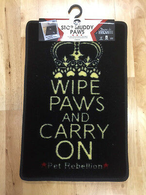 PET REBELLION CAT MAT Wipe Paws and Carry on Flap Mate DOG