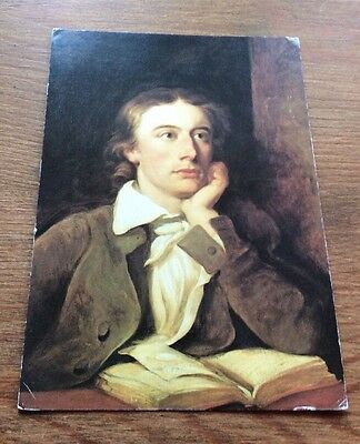 John Keats National Portrait Gallery Postcard Poet Romanticism
