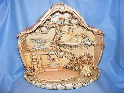 Pendelfin Stoneware Millennium Nursery With Certificate Boxed Made In Burnley