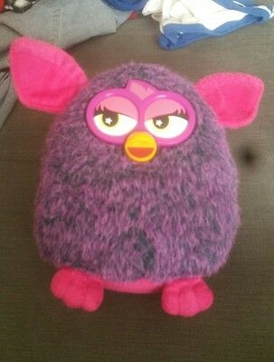 Furby 2013 Hasbro Purple And Turquoise And Pink⭐️RARE⭐️