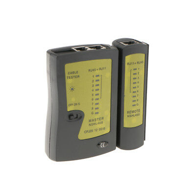 NETWORK LAN CABLE Tester Cat 5 / Cat 5e / Cat 6 / UTP cables