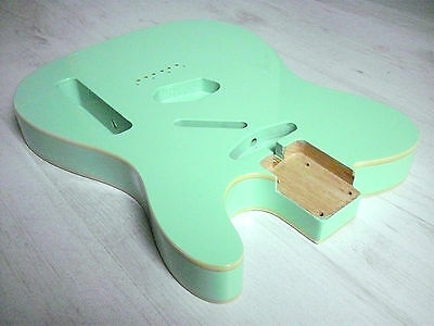 göldo Tele Body US-Alder/Erle Surf-Green Double-Binding