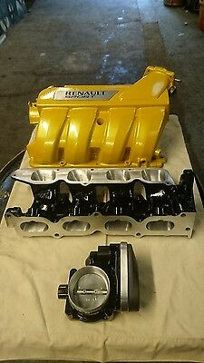 Renault Clio sport 197/200 port-matched & gasflowed inlet manifolds.