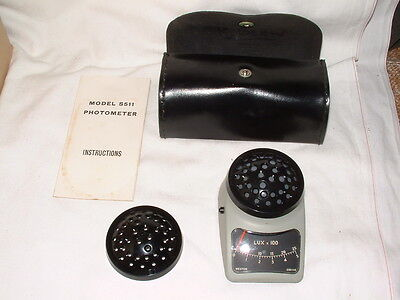 Vintage Sangamo Weston Photometer Model S511