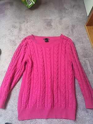 Pink Jumper H&M Small Ladies Girls Fashion Summer Smart Casual