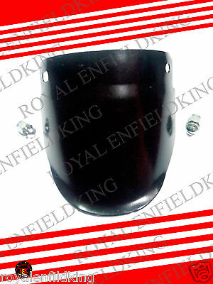 Brand New Royal Enfield Front Mudguard Flap Black