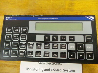Sam Electronics Monitoring and Control System Duty Alarm System DAP 2200-ECR