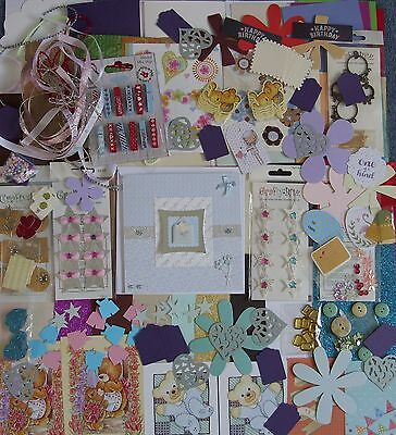 Card Making Clearout Kit - Cards, Envelopes, Embellishments, Papers Etc. (5)