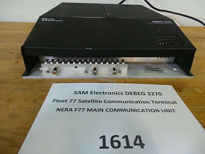 SAM Electronics DEBEG 3270  Fleet 77 Satellite Communication Terminal Zubehör