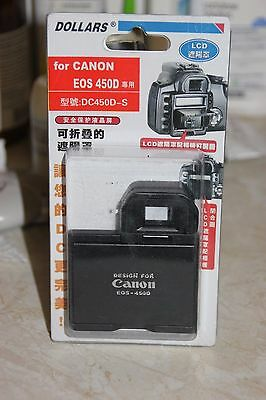 Canon Eos 450D Dslr Camera Lcd Hood And Screen Protector Bnib